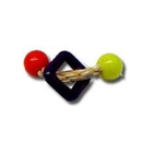 Candy's Creations CCH104 Toys Handheld Two Small Beads w/Sisal