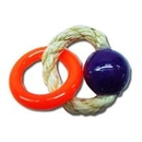 Candy's Creations CCH111 Toys Handheld Sisal Ring