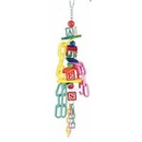 Paradise PT00314 Toys ABC Blocks w/ Chain 18