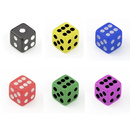 GOGO 1000 PCS Acrylic 6-Sided Miniature Dice Tiny Dice Wholesale, 8mm