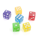 GOGO 100 PCS Opaque Cube Dices, Standard Size 16mm