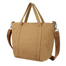 TOPTIE Stylish Canvas Tote bag with Detachable Shoulder Strap, Super Strong Handbag, Daily Essentials