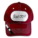 Billy Bob Teeth 14397 Dry Erase Billboard Cap - Maroon