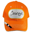 Billy Bob Teeth 14399 Dry Erase Billboard Cap - Orange