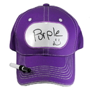 Billy Bob Teeth 14400 Dry Erase Billboard Cap - Purple