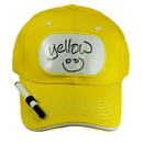 Billy Bob Teeth 14401 Dry Erase Billboard Cap - Yellow