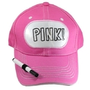 Billy Bob Teeth 14402 Dry Erase Billboard Cap - Pink