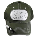 Billy Bob Teeth 14403 Dry Erase Billboard Cap - Olive Green