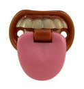 Billy Bob Teeth 90054 Baby W/ Attitude pacifier (Tongue)