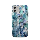 DecalGirl A11CC-BLUEINK Apple iPhone 11 Clip Case - Blue Ink Floral