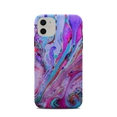 DecalGirl A11CC-MARBLEDLUSTRE Apple iPhone 11 Clip Case - Marbled Lustre