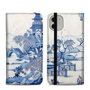 DecalGirl A11FC-BLUEWILLOW Apple iPhone 11 Folio Case - Blue Willow