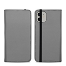 DecalGirl A11FC-SS-GRY Apple iPhone 11 Folio Case - Solid State Grey
