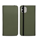 DecalGirl A11FC-SS-OLV Apple iPhone 11 Folio Case - Solid State Olive Drab