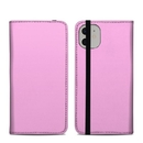 DecalGirl A11FC-SS-PNK Apple iPhone 11 Folio Case - Solid State Pink