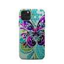 DecalGirl A11PCC-BFLYGLASS Apple iPhone 11 Pro Clip Case - Butterfly Glass
