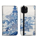 DecalGirl A11PFC-BLUEWILLOW Apple iPhone 11 Pro Folio Case - Blue Willow