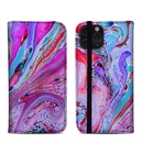 DecalGirl A11PFC-MARBLEDLUSTRE Apple iPhone 11 Pro Folio Case - Marbled Lustre