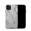 DecalGirl A11PHC-WHT-MARBLE Apple iPhone 11 Pro Hybrid Case - White Marble