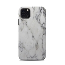 DecalGirl A11PMCC-WHT-MARBLE Apple iPhone 11 Pro Max Clip Case - White Marble