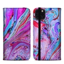 DecalGirl A11PMFC-MARBLEDLUSTRE Apple iPhone 11 Pro Max Folio Case - Marbled Lustre