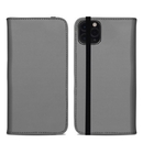 DecalGirl A11PMFC-SS-GRY Apple iPhone 11 Pro Max Folio Case - Solid State Grey