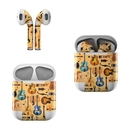 DecalGirl AAP-GTRCOL Apple AirPods Skin - Guitar Collage (Skin Only)