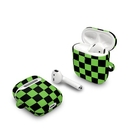 DecalGirl AAPC-CHECKERS-LIM Apple AirPods Case - Checkers Lime