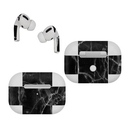 DecalGirl AAPP-BLACK-MARBLE Apple AirPods Pro Skin - Black Marble (Skin Only)