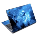 DecalGirl AC72-QWAVES-BLU Acer Chromebook C720 Skin - Blue Quantum Waves (Skin Only)