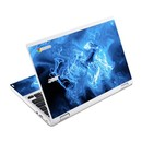 DecalGirl ACR11-QWAVES-BLU Acer Chromebook R11 Skin - Blue Quantum Waves (Skin Only)