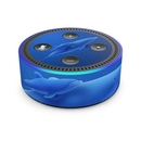 DecalGirl AED2-BDOLPHINS Amazon Echo Dot 2nd Gen Skin - Blue Dolphins (Skin Only)
