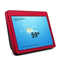 DecalGirl AES2-SS-RED Amazon Echo Show 2nd Gen Skin - Solid State Red (Skin Only)