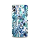 DecalGirl AIP11-BLUEINK Apple iPhone 11 Skin - Blue Ink Floral (Skin Only)