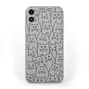 DecalGirl AIP11-MOODYCATS Apple iPhone 11 Skin - Moody Cats (Skin Only)