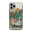 DecalGirl AIP11P-WAITING Apple iPhone 11 Pro Skin - Lulu Waiting by the Train Tracks (Skin Only)