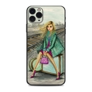 DecalGirl AIP11PM-WAITING Apple iPhone 11 Pro Max Skin - Lulu Waiting by the Train Tracks (Skin Only)