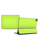 DecalGirl AIP12FK-SS-LIM Apple Smart Keyboard iPad Pro 12 (3G 4G) Skin - Solid State Lime (Skin Only)