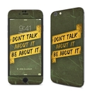 DecalGirl AIP6-DONTALK Apple iPhone 6 Skin - Don't Talk (Skin Only)