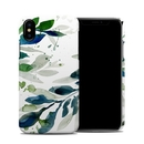 DecalGirl AIPXCC-FLOATINGLEAVES Apple iPhone X Clip Case - Floating Leaves
