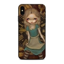 DecalGirl AIPXSM-ALCLK Apple iPhone Xs Max Skin - Alice Clockwork (Skin Only)