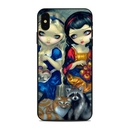 DecalGirl AIPXSM-ALCSNW Apple iPhone Xs Max Skin - Alice & Snow White (Skin Only)