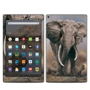 DecalGirl AKHD19-AFELE Amazon Kindle Fire HD10 2019 Skin - African Elephant (Skin Only)