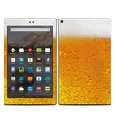 DecalGirl AKHD19-ALE Amazon Kindle Fire HD10 2019 Skin - Beer Bubbles (Skin Only)