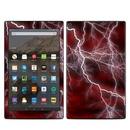 DecalGirl AKHD19-APOC-RED Amazon Kindle Fire HD10 2019 Skin - Apocalypse Red (Skin Only)