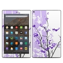DecalGirl AKHD19-TRANQUILITY-PRP Amazon Kindle Fire HD10 2019 Skin - Violet Tranquility (Skin Only)