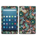 DecalGirl AKHD88-CRAZYPAISLEY Amazon Kindle Fire HD8 2018 Skin - Crazy Daisy Paisley (Skin Only)