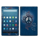 DecalGirl AKHD88-PEACEOUT Amazon Kindle Fire HD8 2018 Skin - Peace Out (Skin Only)