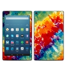 DecalGirl AKHD88-TIEDYE Amazon Kindle Fire HD8 2018 Skin - Tie Dyed (Skin Only)