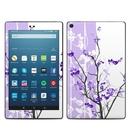 DecalGirl AKHD88-TRANQUILITY-PRP Amazon Kindle Fire HD8 2018 Skin - Violet Tranquility (Skin Only)